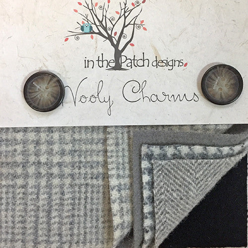Wool Charm Pack – Greys (5124)