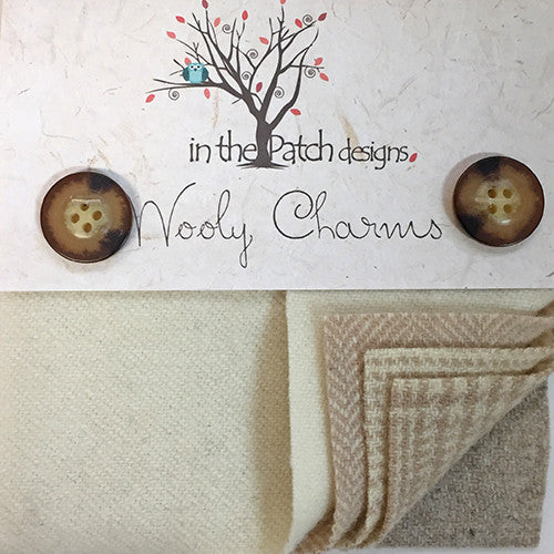 Wool Charm Pack – Tans (5125)