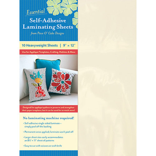 Essential Self-Adhesive Laminating Sheets – 10ct