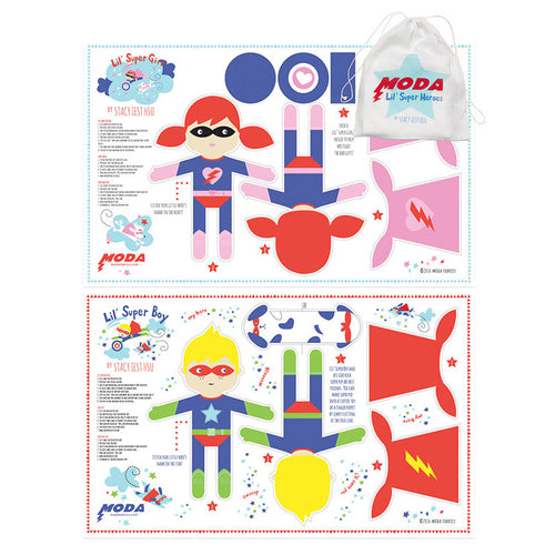 Lil Super Hero Cotton Towels