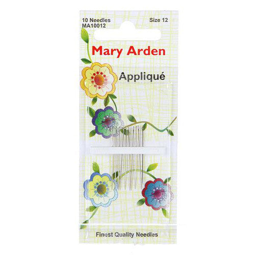 Mary Arden Applique Needle, #12