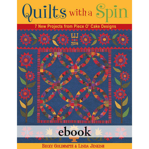 Quilts With A Spin eBook