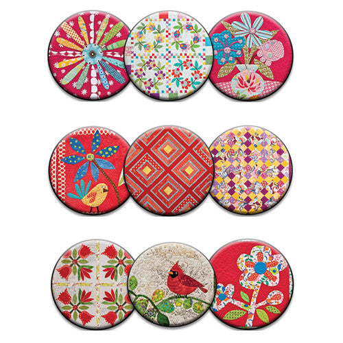 Red Hot Dots Magnet Collection