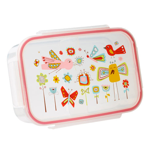 Birds and Butterflies Bento Box
