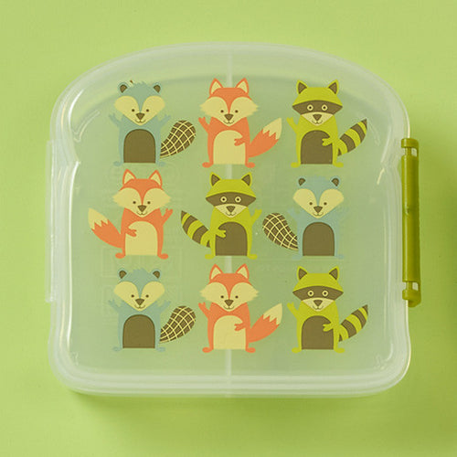 Foxes Sandwich Box