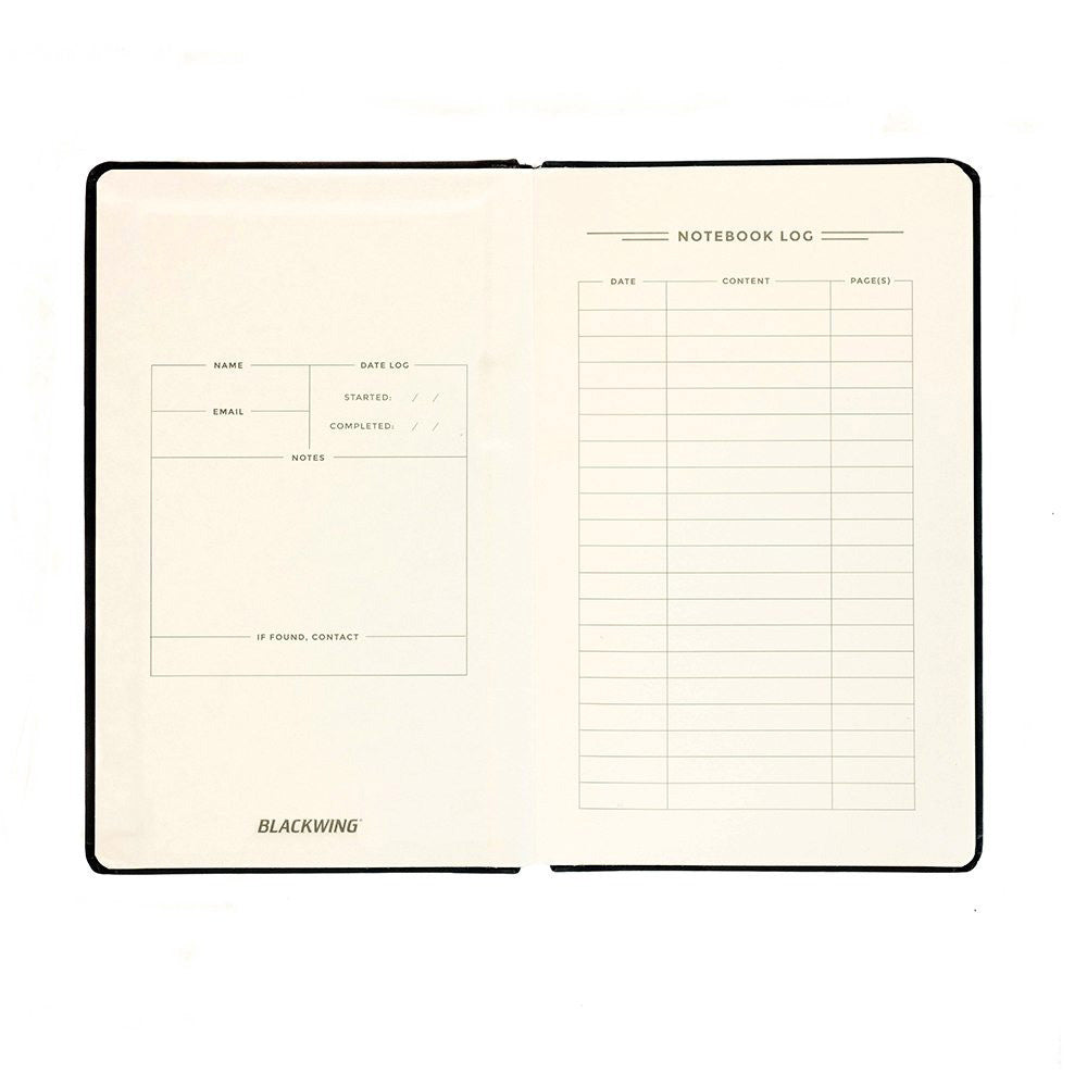 Blackwing Slate Journal - Blank Pages