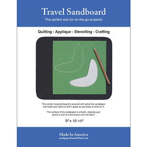 Travel Sandboard - New & Improved!