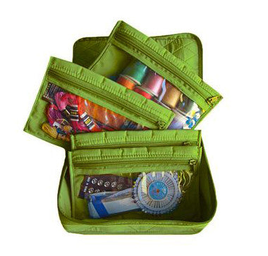 Yazzii 4-Pocket Organizer - Green