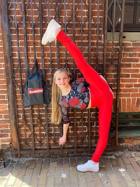 When Your Dance Bag is Your Home Away From Home - by Charlette Pliescott