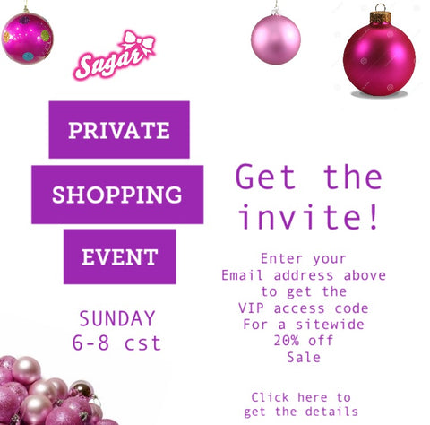 VIP Private Shopping Event