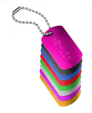 Personalize your Makeup Bag - Dog Tag