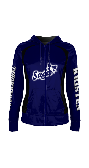 Electric Blue - Custom Hoodie