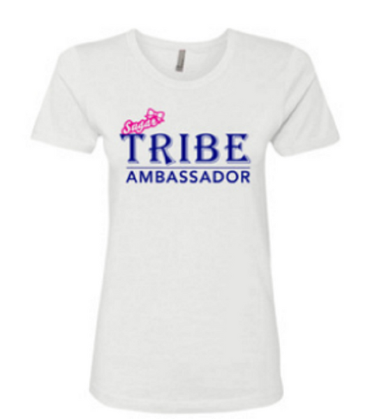 SUGARTRIBE Official Ambassador Tee - Slim Cut - Girls and Ladies