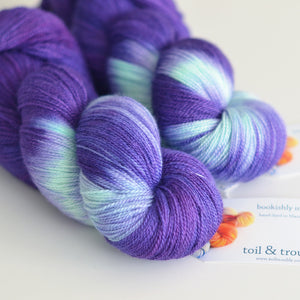 Hecate - Hand Dyed Yarn - Lace
