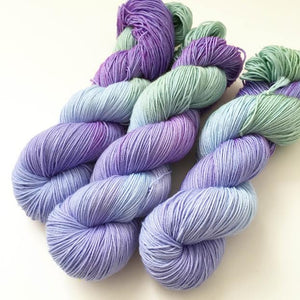 Pansy Hand Dyed Yarn