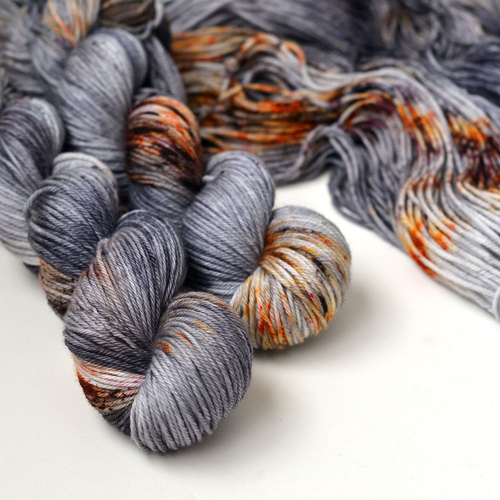 Rusty Coffin Nail - Hand Dyed Yarn
