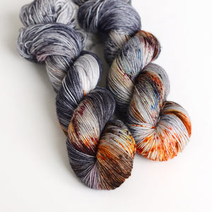 Limited Edition Return! Rusty Coffin Nail - Fingering or Worsted