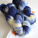 Starry Starry Night - Hand Dyed Yarn - Fingering