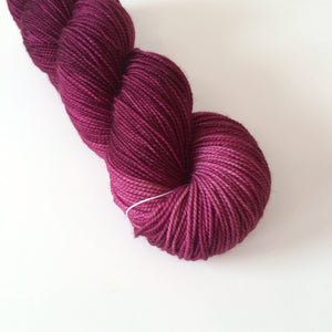 Wine Harvest - Hand Dyed Yarn - Fingering