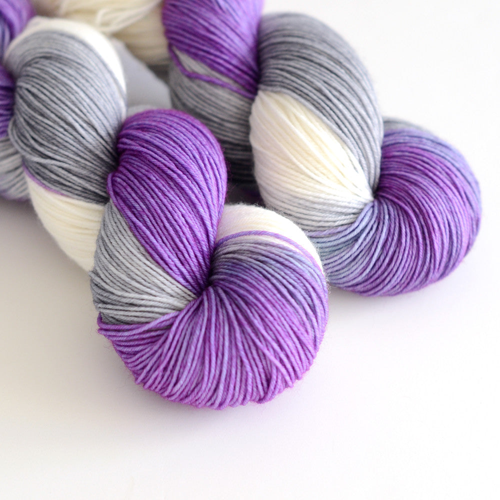 Yeti Love Note - Hand Dyed Yarn - Fingering