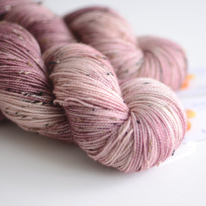 Persephone - Tweed Hand Dyed Yarn - Fingering