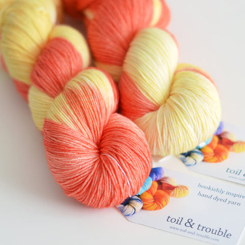 Painted Hills - Hand Dyed Yarn - Fingering