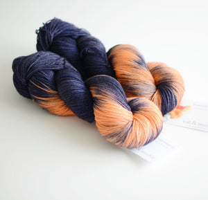 Space Cowboy - Hand Dyed Yarn - Fingering