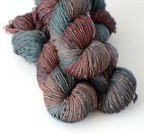 Charybdis - Tweed Hand Dyed Yarn - Fingering