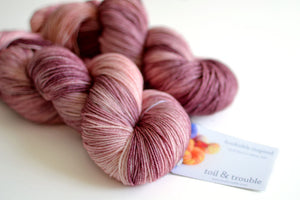Persephone - Hand Dyed Yarn - Fingering