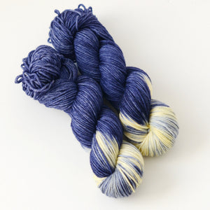 Starry Starry Night - Hand Dyed Yarn - Worsted