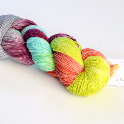 Fairy Queen Jubilee - Hand Dyed Yarn - Fingering