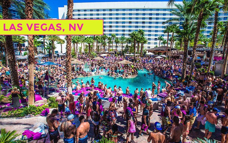 Las Vegas Spring Break Pool Parties