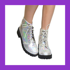 hologram boots