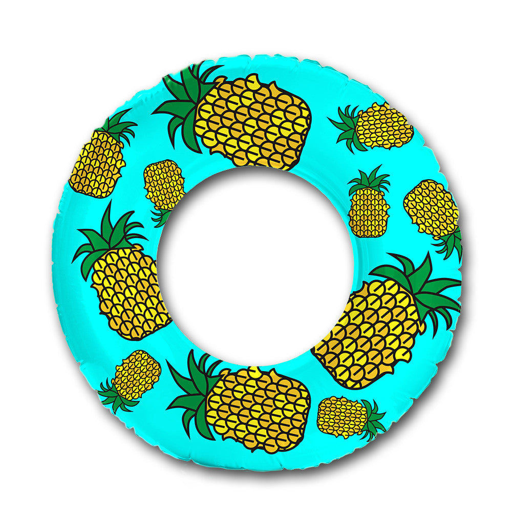 Floaties For Pool Toys · Flonuts Pineapple Inflatable Pool Raft Float ...