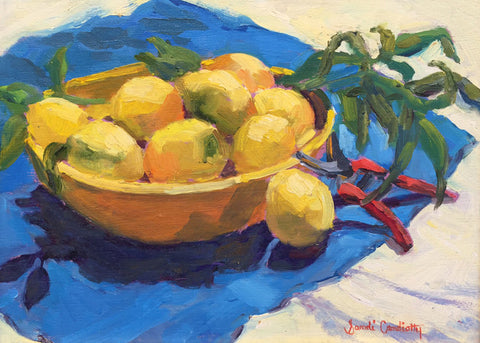 Lemon Still Life