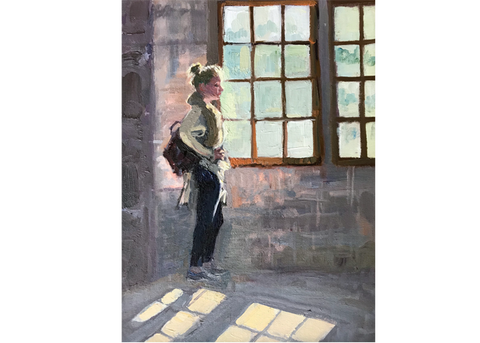 Girl at the Chateau