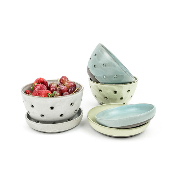 Berry Bowl Set in Dark Stoneware