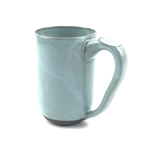 Blue Mug in Dark Clay