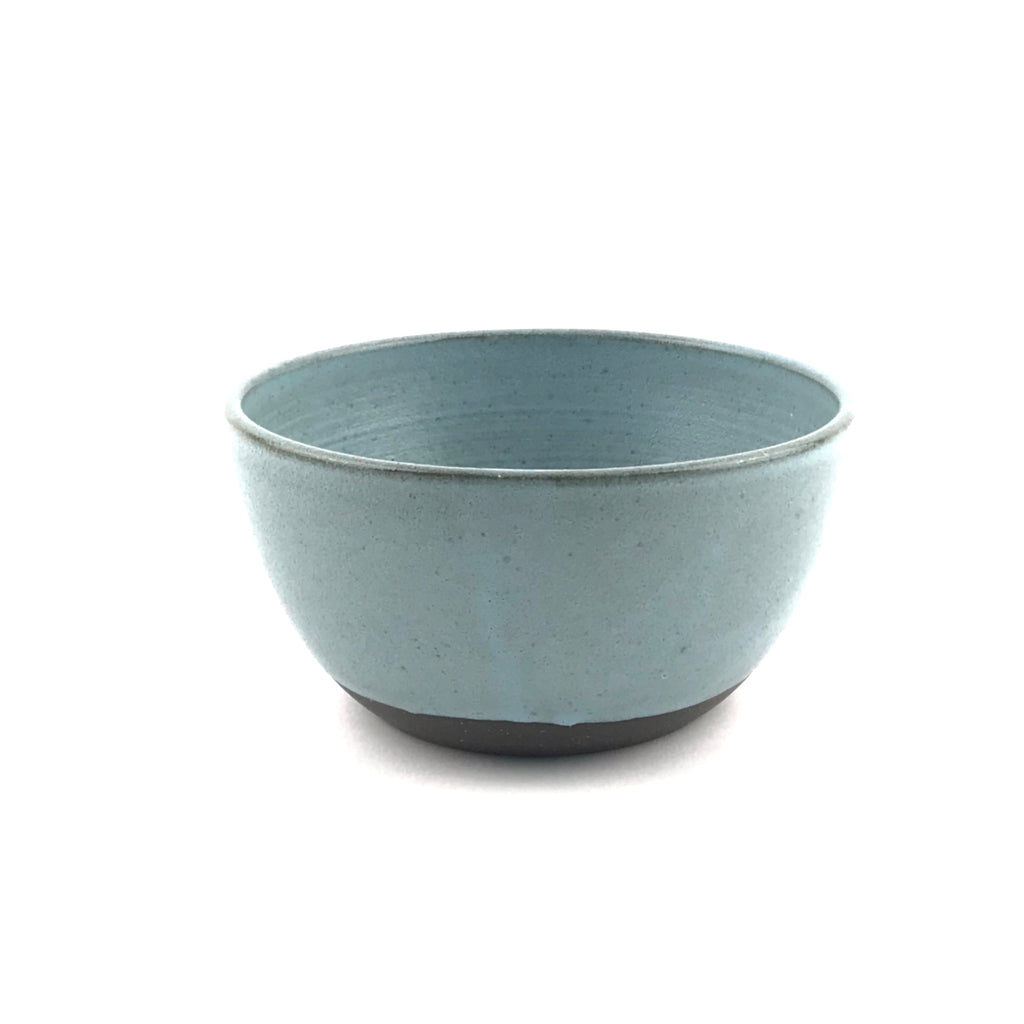 Blue Bowls in Dark Clay