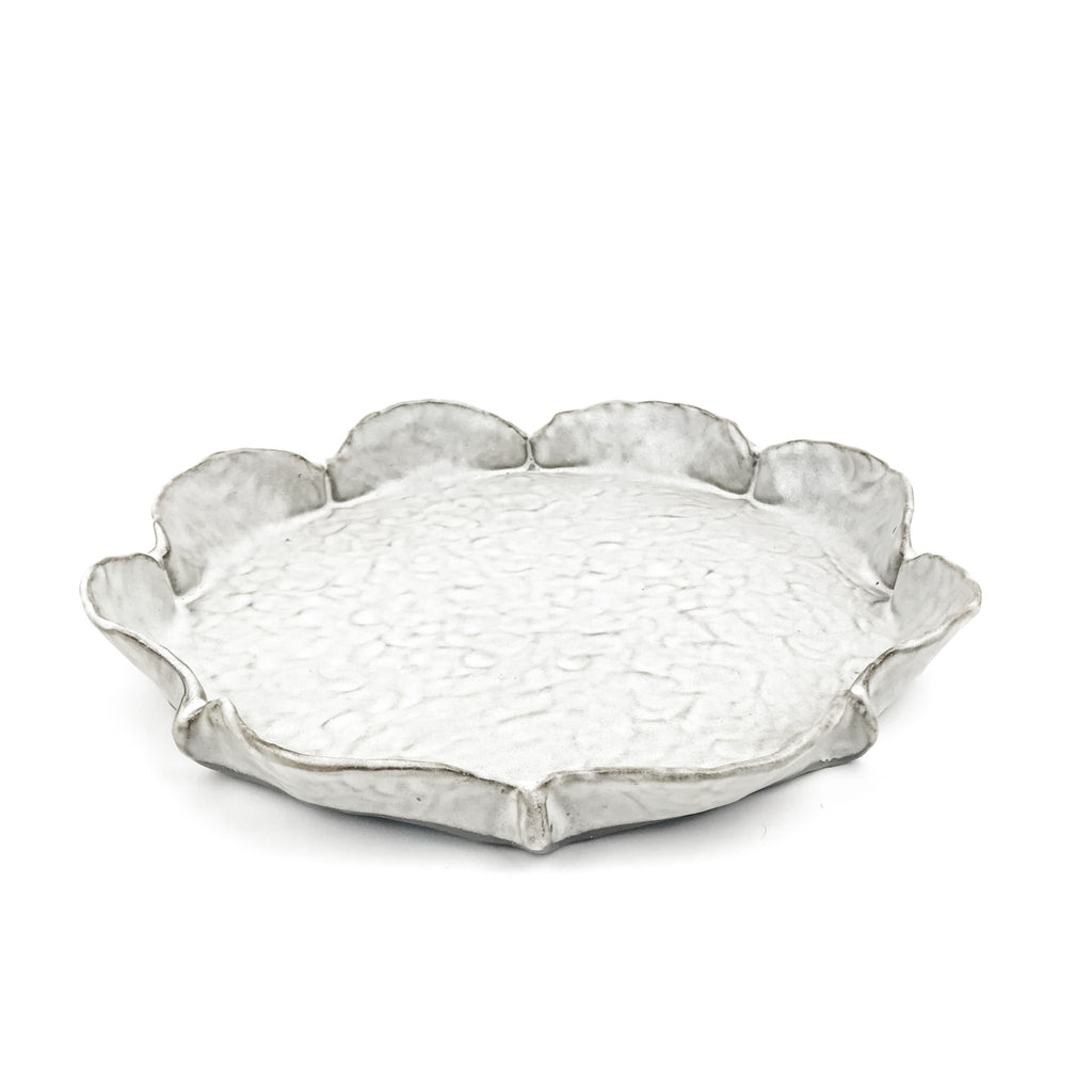 Fluted Plate