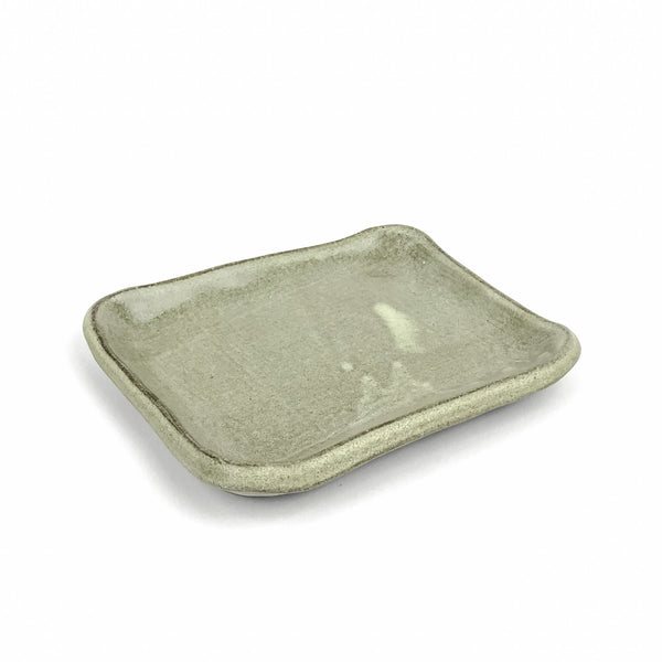 Little Tray in Dark Stoneware
