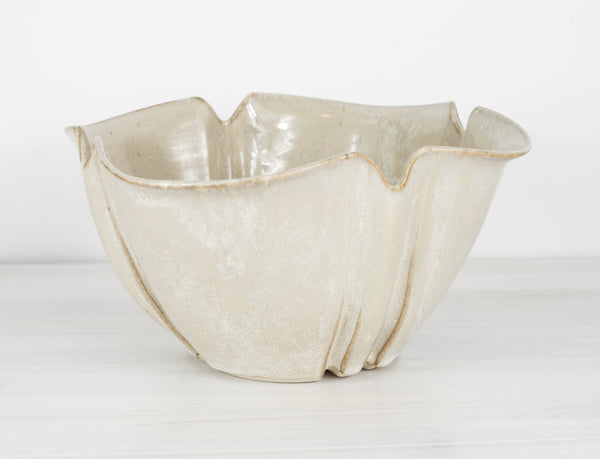 Large Fluted Bowl