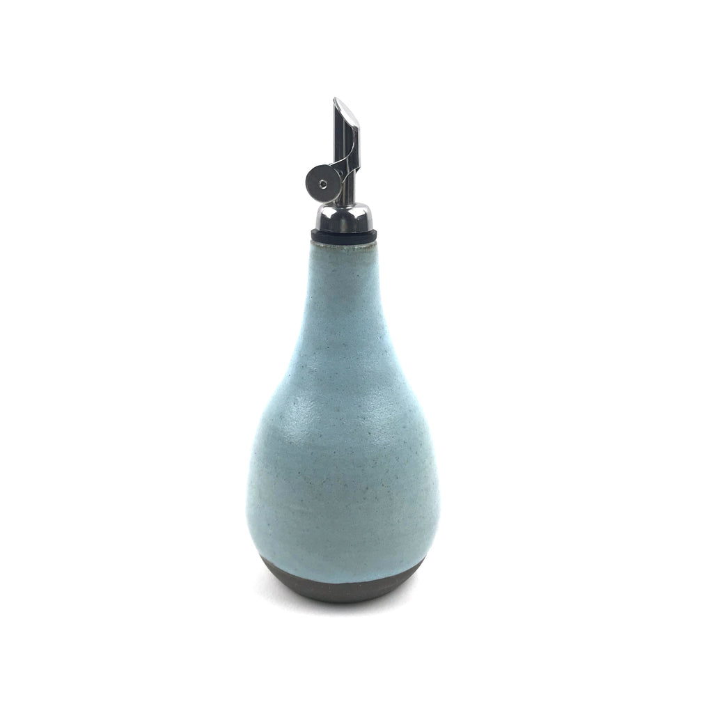 Oil Bottle Cruets in Dark Clay