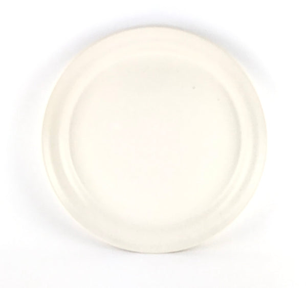 Plates in White Stoneware