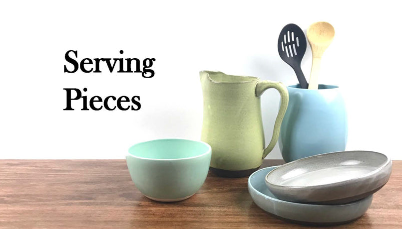 Off Your Rocker Pottery Dish Sets