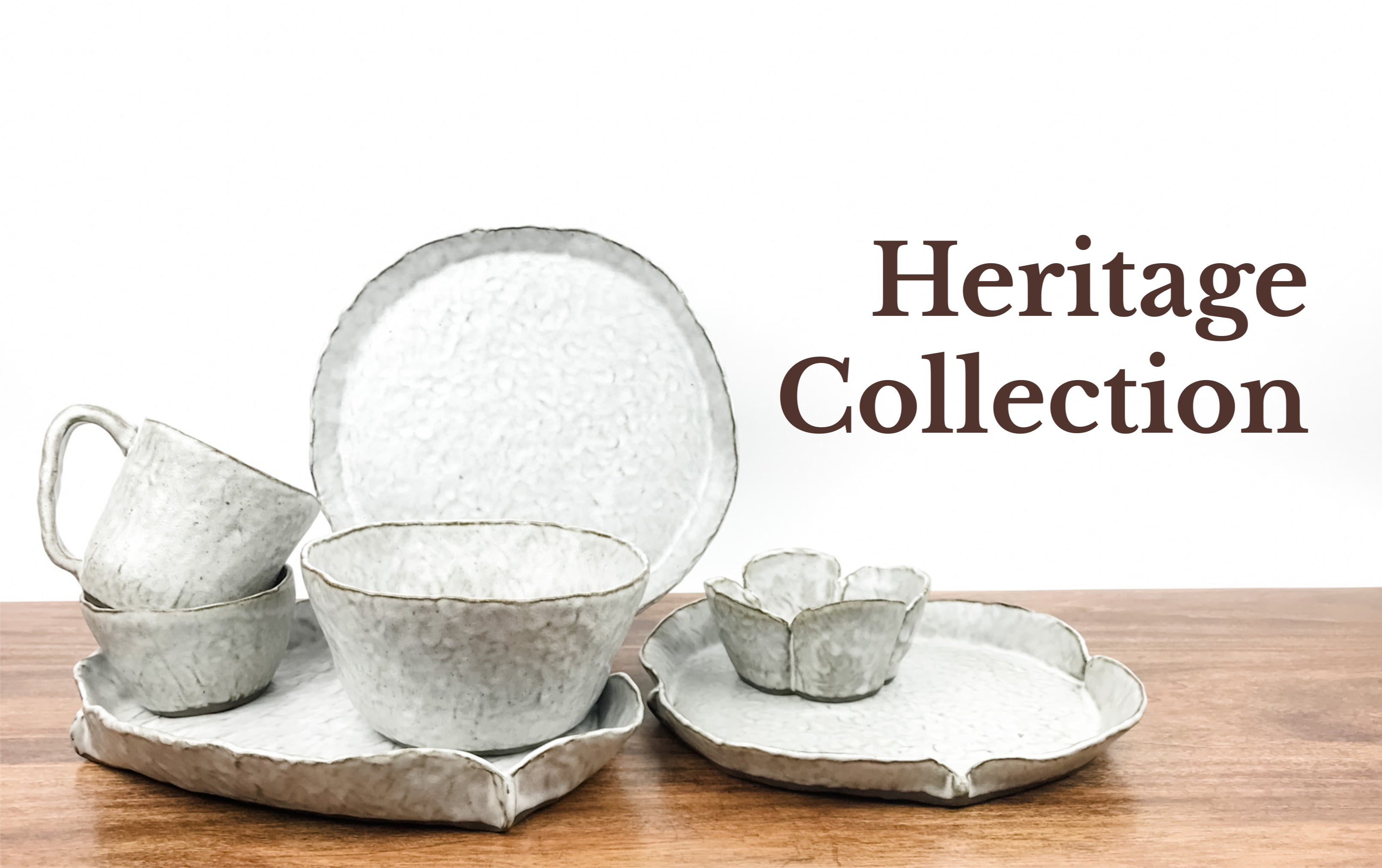 Handmade Pottery Heritage Collection