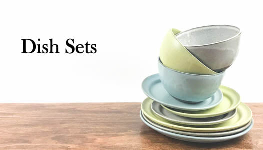 Handmade Farmhouse Pottery Dish Sets