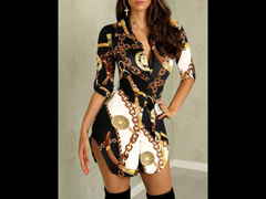 Chain Me Baby, Shirt Dress