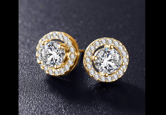 Emily's,  Cubic Zirconia  Stud Earrings.
