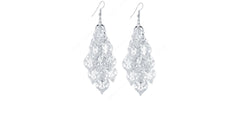 Romantic Leaf Design, Chandelier Earrings